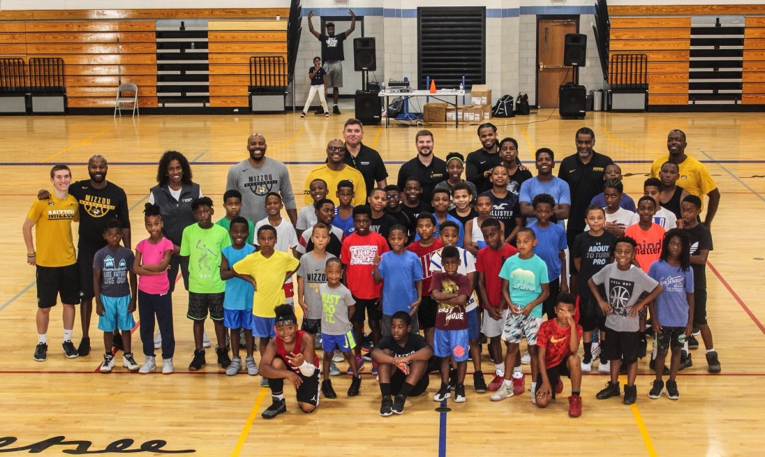 Camp photo at the Jackie Joyner-Kersee Center in East St. Louis, IL.